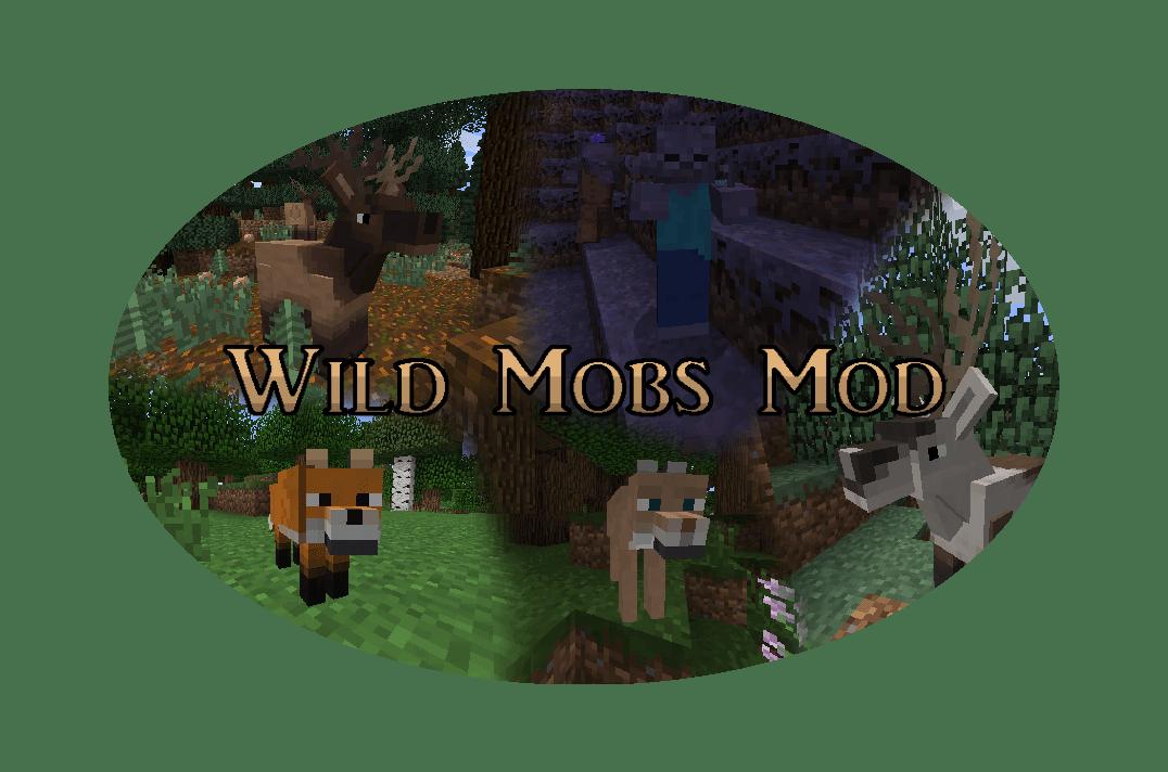 Wild Mobs Mod - новые мобы [1.7.10] [Русифицирован]