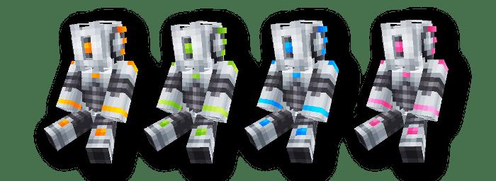[Skins] Prototype Robots - скины роботов