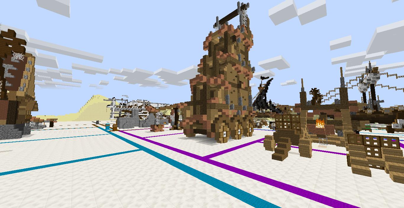 [Map][1.7.10] Полезные постройки!