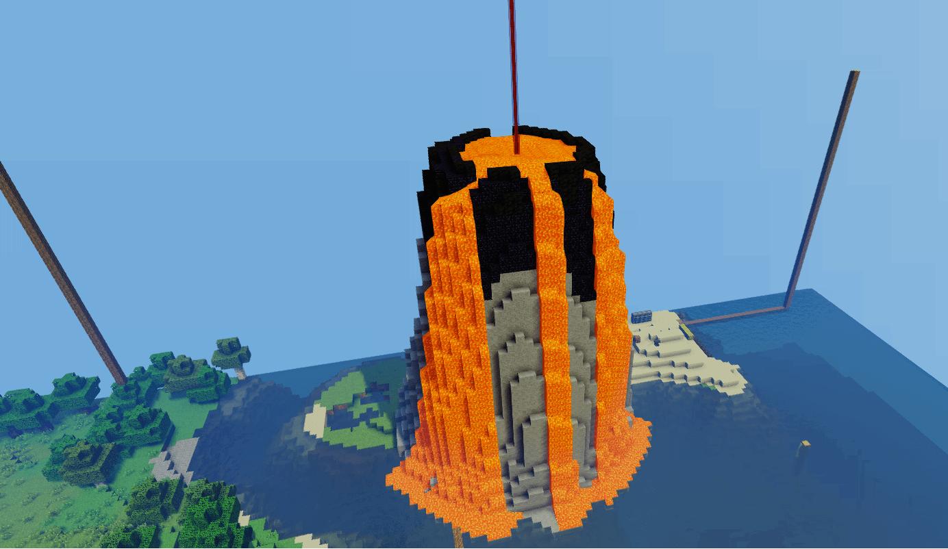 [Timelapse] Island #1: Volcano