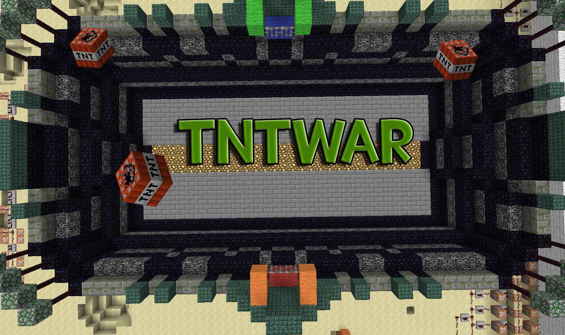 [Mini-Game Map] TntWar - для двоих игроков