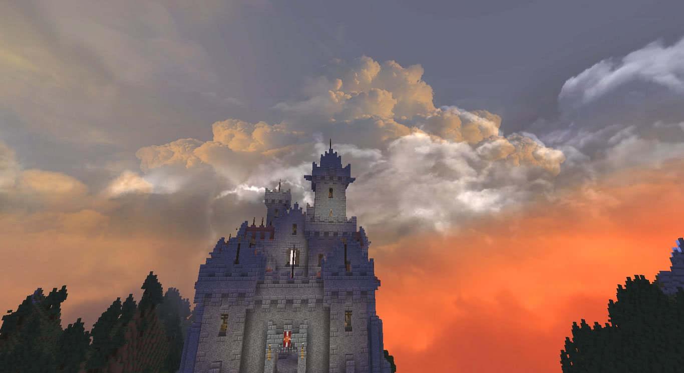 Dramatic Skys – невероятно красивое небо [1.16] [1.15.2] [1.14.4] [1.12.2] [1.11.2] [1.8.9] [1.7.10]