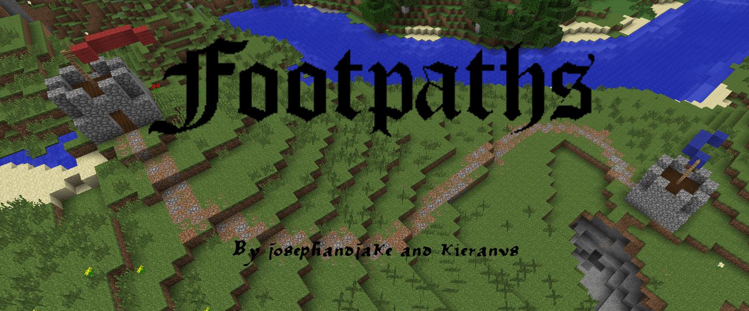 Footpaths - тропинки [1.7.10]  [1.7.2]