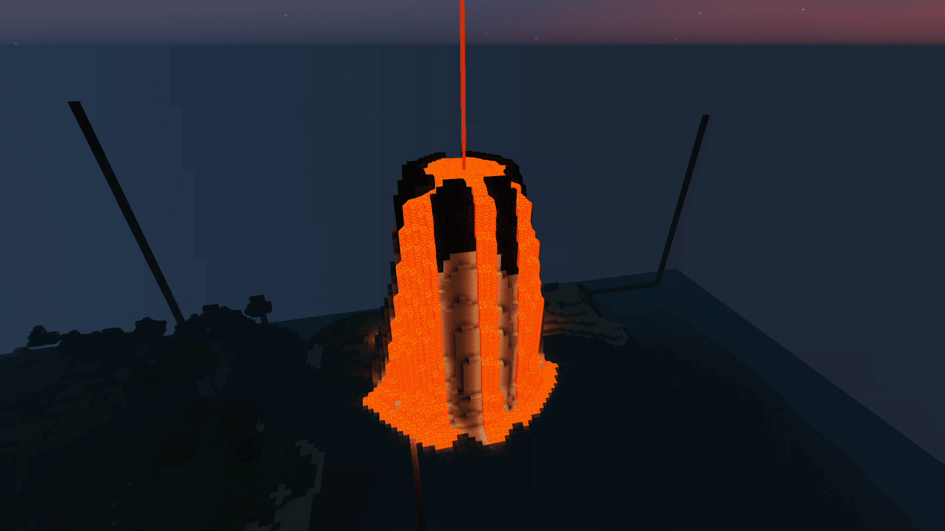 [Timelapse] Island #2: Volcanic Eruption