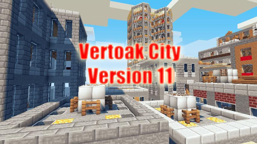 [Map] Vertoak City - Нефиговый город!