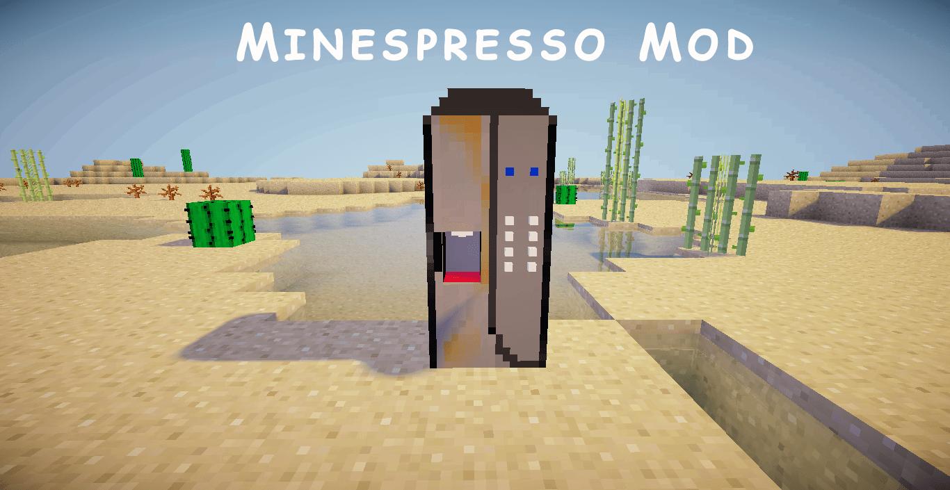 [1.6.4] Minespresso Mod - кофе-машина