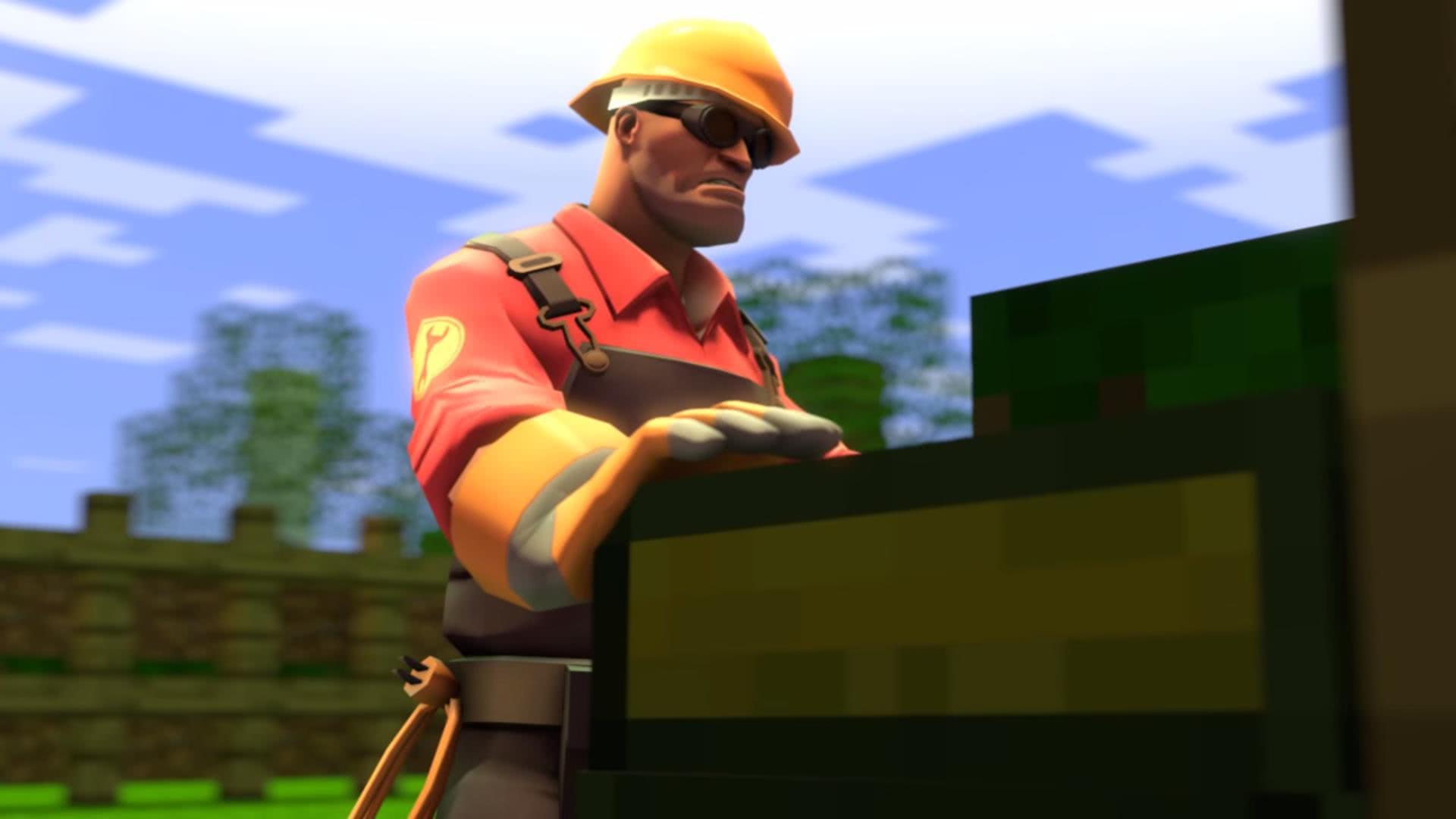 [Video] Engineer in minecraft - или сказка о том, как инженер в кубач попал