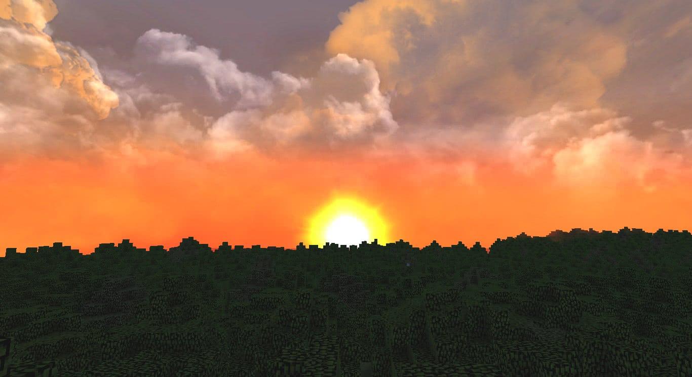Dramatic Skys – невероятно красивое небо [1.12.2] [1.11.2] [1.10.2] [1.9.4] [1.8.9] [1.7.2] [1.6.2]