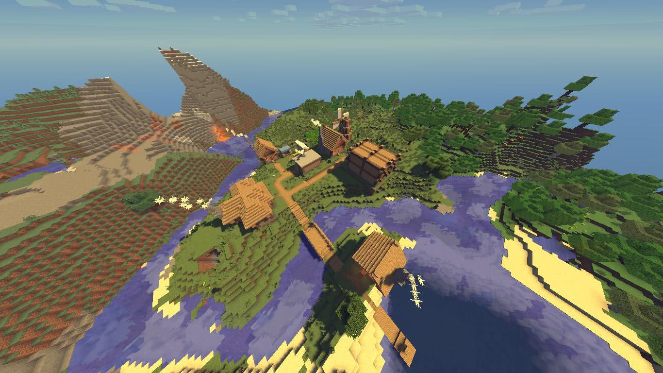 [1.10.2][MAP] Деревня