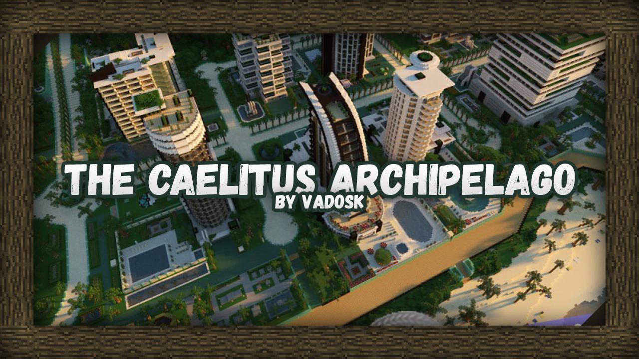 [Карта] The Caelitus Archipelago | 8000 x 8000 | Pokemon adventure map
