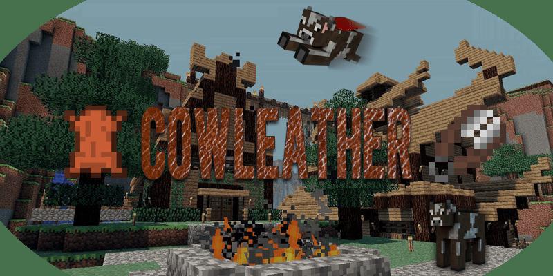 [Plugins][1.7.4] CowLeather - стрижём коров