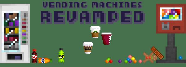 Vending Machines Revamped - торговый автомат [1.8] [1.7.10]