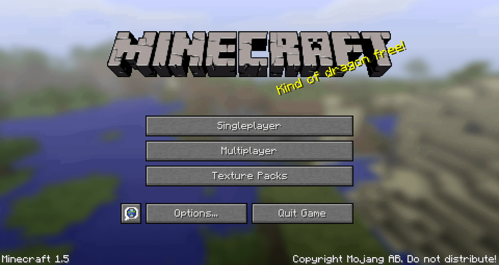 [1.5][MOD]Texture Packs Button On Main Menu - Теперь Кнопка