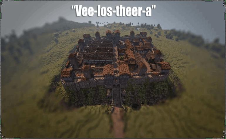 [Map][1.7.10] Velosthera - Римский форт