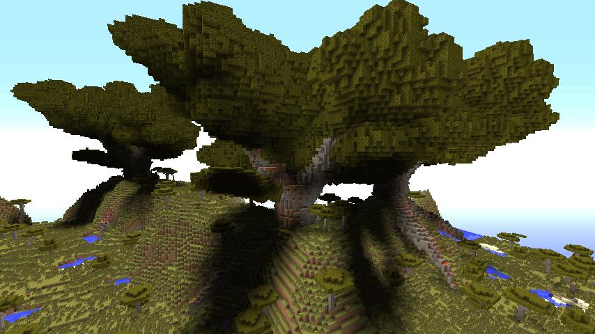 [Plugins][1.7.9] Giant Trees - огромные деревья