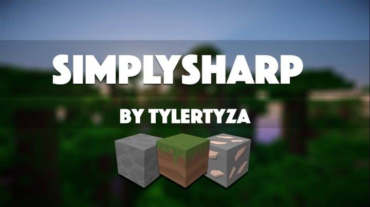 SimplySharp — Красивый, ламповый ресурс-пак! [1.11\1.9][128]